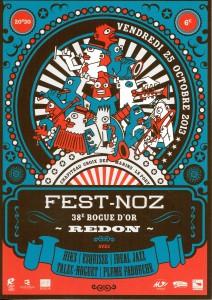 Affiche Fest-Noz Bogue687